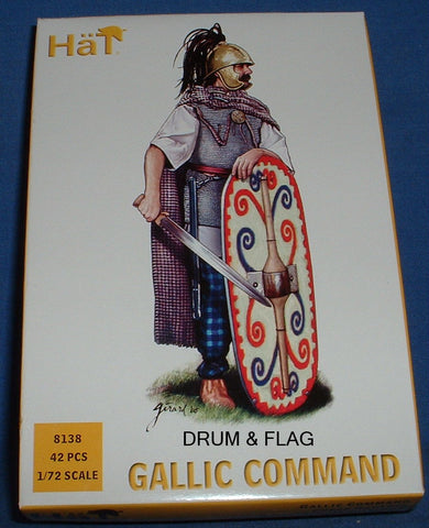 HAT 8138 GALLIC COMMAND - 1/72 SCALE PLASTIC
