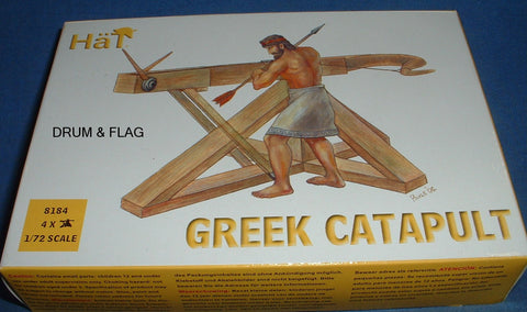 HAT 8184 - GREEK CATAPULT - 1/72 SCALE PLASTIC