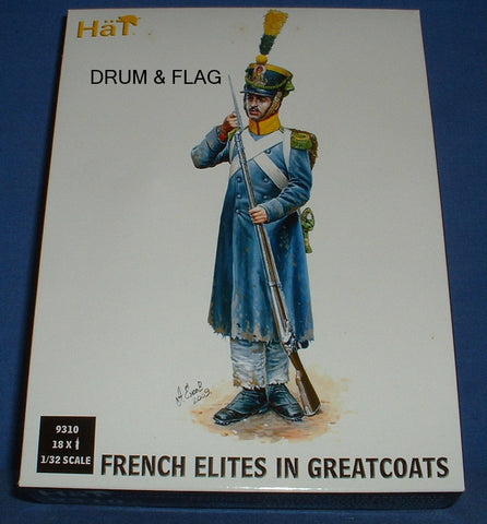 HAT 9302 - FRENCH LIGHT INFANTRY VOLTIGEURS. 1/32 SCALE X 18 FIGURES. 54MM