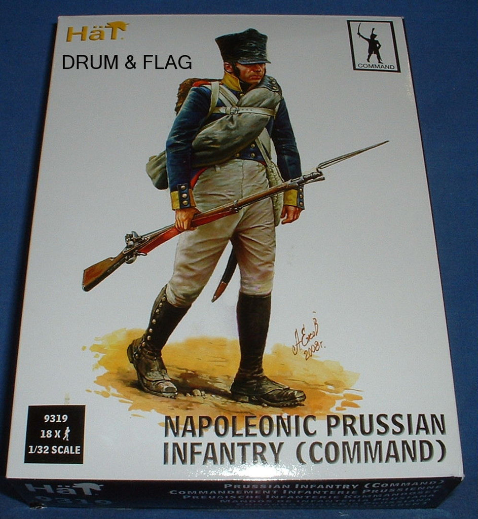 HAT 9319 - PRUSSIAN INFANTRY COMMAND 1/32 SCALE