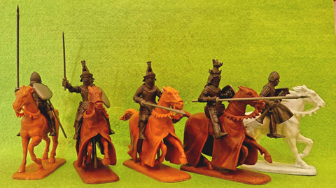 Expeditionary Force 60 HYW07B - English Knight Command - 60mm