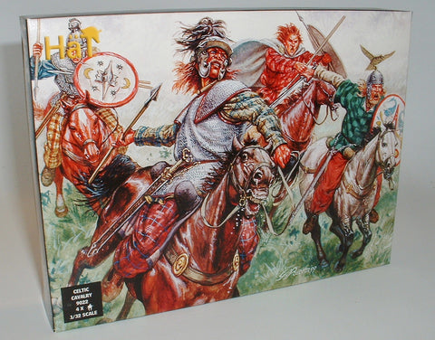 HAT 9022. CELTIC CAVALRY. 1/32 SCALE PLASTIC FIGURES. 54MM ANCIENT CELTS BRITONS