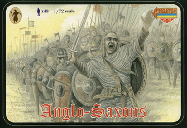 Strelets Set #M003 - Anglo-Saxons. 1/72 Scale Plastic Figures