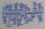 Strelets Set M 130 Polish Infantry WWI 1/72 Scale WW1 Poles Blue Army
