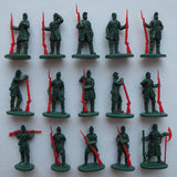 Strelets Set 157 - Union Infantry Standing - American Civil War. 1/72 scale