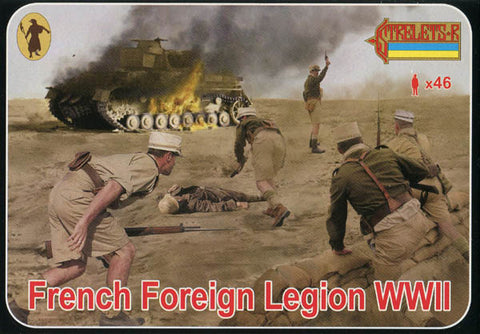 Strelets Set 187 - French Foreign Legion - WW2. 1/72 Scale Plastic Figures