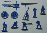 Strelets Set 182 - 30 Pdr Parrott Rifle with US Crew - ACW Union Artillery - 1/72 Scale Plastic Figures