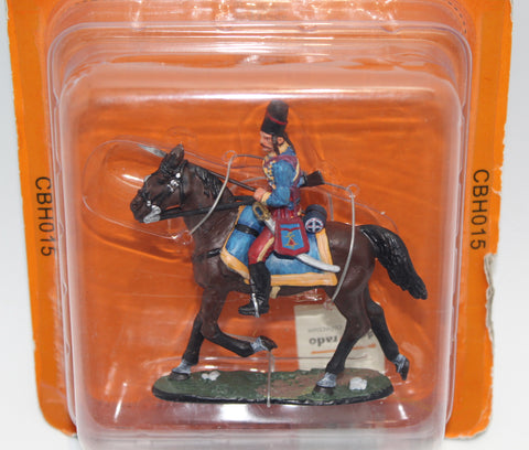 DEL PRADO. French Hussar Lauzaun's Legion. Yorktown 1781. Cavalry Through the Ages Series. CBH015 (Used)