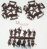 "Linear-a Set 022 - The Etruscans Cavalry Set 2 ""Villanovan Culture Warriors"" 9th-5th Centuries"