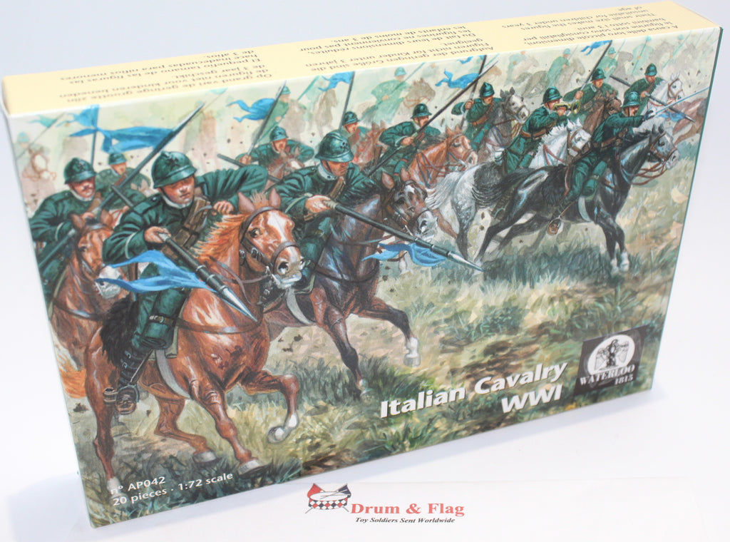 WATERLOO 1815 AP042 ITALIAN CAVALRY WWI. 1/72 SCALE