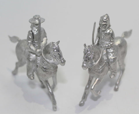 Dorset Model Soldier Company - Mounted Cavalier & Roundhead