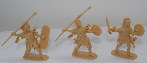 HaT - SPANISH LIGHT INFANTRY TRIO - PUNIC WARS - 54MM - 1/32 SCALE