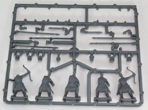 GRIPPING BEAST - Late Roman Infantry Sprue. 28mm Hard Plastic. Missing Shields