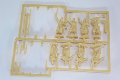 HaT - El Cid Heavy Spanish Infantry Sprue. 28mm Hard Plastic. Missing Shields