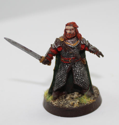 HAMA of ROHAN - METAL - PAINTED - LOTR - GAMES WORKSHOP. (df1.1)