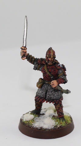 EOMER of ROHAN - METAL - PAINTED - LOTR - GAMES WORKSHOP. (df1.4)