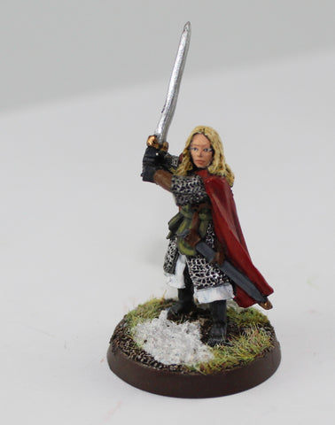 EOWYN of ROHAN - METAL - PAINTED - LOTR - GAMES WORKSHOP. (df1.46