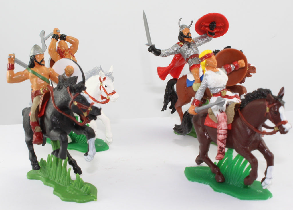 DSG LWV05 1/32 Scale Vikings Mounted. Barbarians etc...