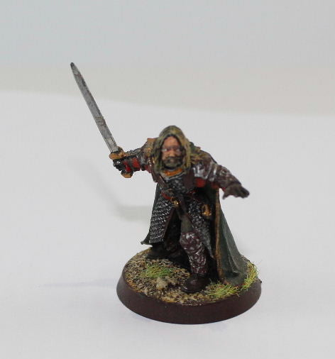 GAMLING of ROHAN - METAL - PAINTED - LOTR - GAMES WORKSHOP. (df1.2)