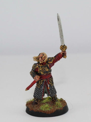 THEODEN of ROHAN ON FOOT - METAL - PAINTED - LOTR - GAMES WORKSHOP. (df2.2)