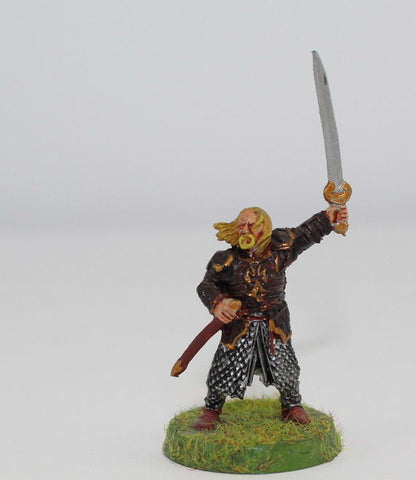 THEODEN of ROHAN ON FOOT - METAL - PAINTED - LOTR - GAMES WORKSHOP. (df2.3)