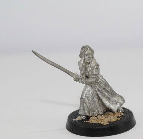 EOWYN of ROHAN ON FOOT - METAL -  LOTR - GAMES WORKSHOP. (df2.7)