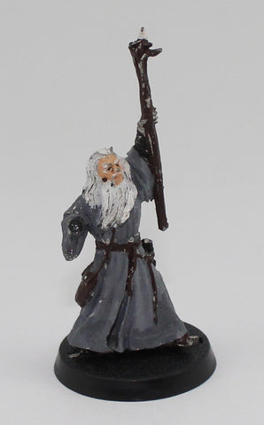 GANDALF THE GRAY - METAL - PAINTED - LOTR - GAMES WORKSHOP. (df3.3)