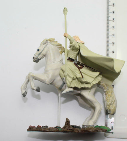GANDALF THE WHITE ON SHADOWFAX. LORD OF THE RINGS AOME (ARMIES OF MIDDLE EARTH). Used (A)