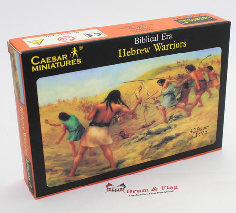 CAESAR SET #14 - HEBREW WARRIORS. 1/72 SCALE PLASTIC. BIBLICAL ERA