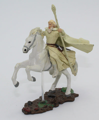 GANDALF THE WHITE ON SHADOWFAX. LORD OF THE RINGS AOME (ARMIES OF MIDDLE EARTH). Used (B)
