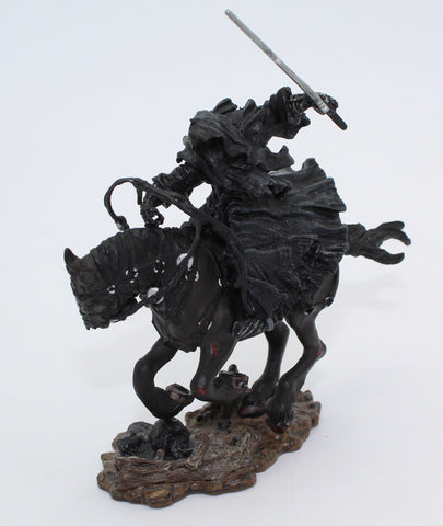 Galloping Ringwraith / Nazgul. Mounted. LORD OF THE RINGS AOME (ARMIES OF MIDDLE EARTH). Used. B