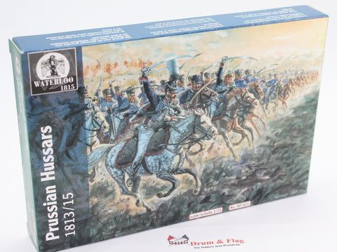 WATERLOO 1815 AP021 PRUSSIAN BRANDENBURG HUSSARS 1:72 scale