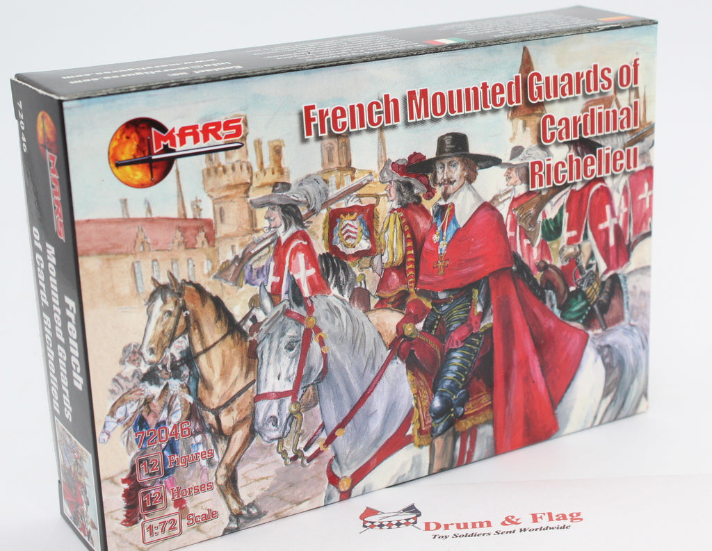 MARS 72046 - French Mounted Guards of Cardinal Richelieu. TYW. 1/72 Scale