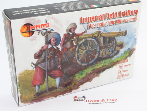 MARS 72093 - Imperial Field Artillery. (First half of XVII Century). TYW. 1/72 Scale