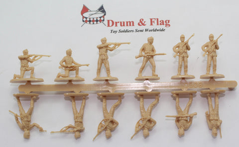 Single Sprue of HAT 8060 - WW1 AUSTRIAN INFANTRY 1914 - 1/72 SCALE PLASTIC