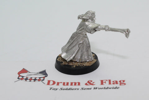 GANDALF THE GRAY AT ORTHANC - METAL - UNPAINTED - LOTR - GAMES WORKSHOP. (df3.40)