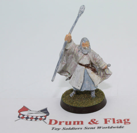 GANDALF THE WHITE - METAL - PAINTED - LOTR - GAMES WORKSHOP. (df3.41)