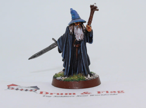 GANDALF THE GRAY - METAL - PAINTED - LOTR - GAMES WORKSHOP. (df3.42)