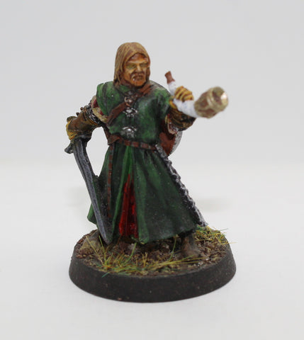 BOROMIR - METAL - PAINTED - LOTR - GAMES WORKSHOP. (df3.46)