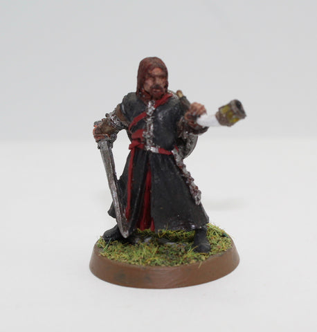 BOROMIR - FINECAST - PAINTED - LOTR - GAMES WORKSHOP. (df3.48)