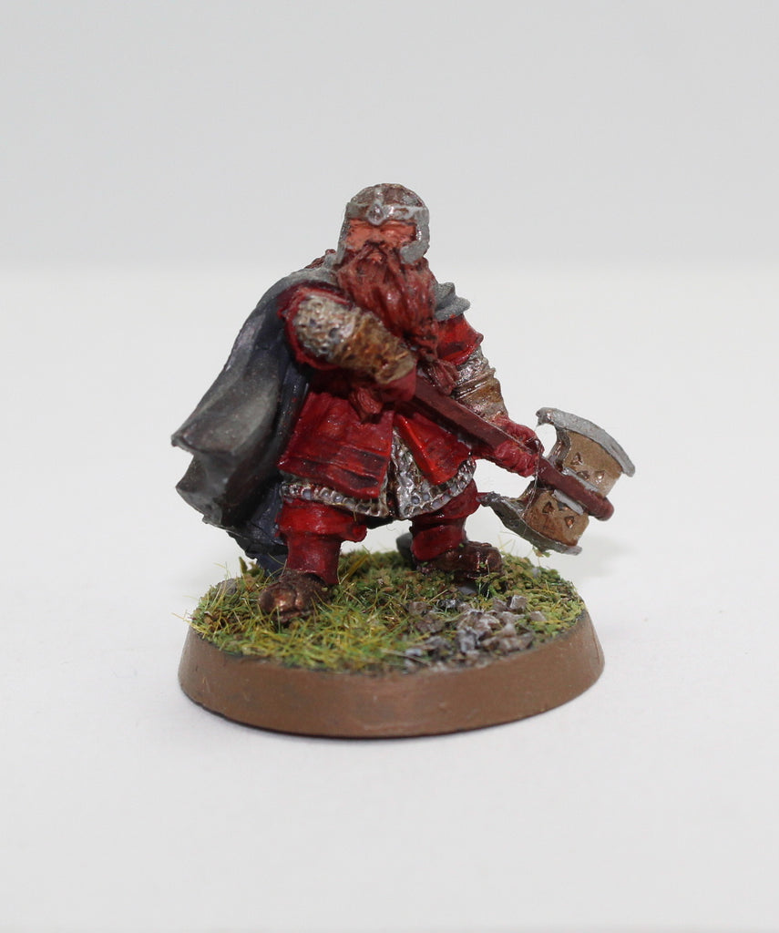 GIMLI - FINECAST - PAINTED - LOTR - GAMES WORKSHOP. (df3.51)