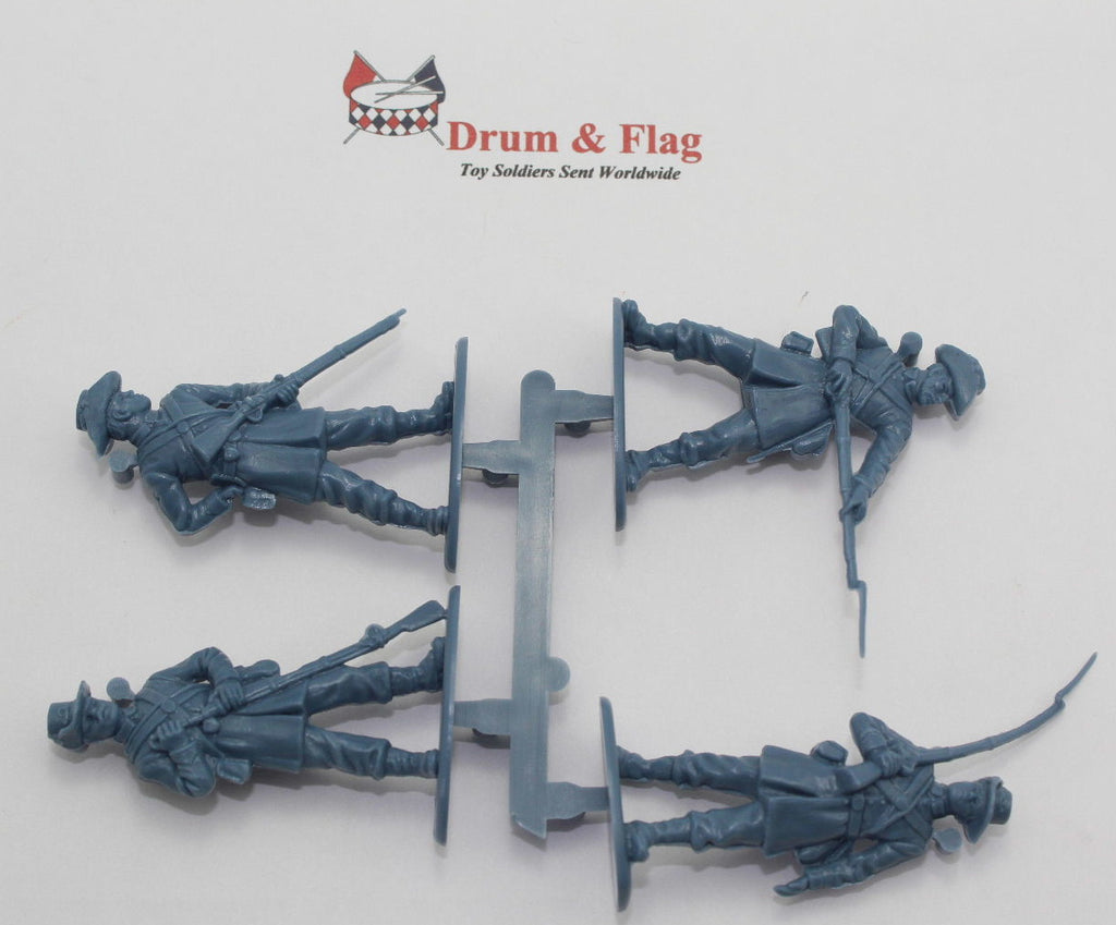 SINGLE SPRUE OF A CALL TO ARMS #18 UNION IRON BRIGADE 1/32 SCALE CIVIL WAR INFANTRY - UNPAINTED