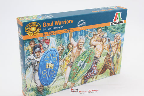 Italeri 6022  - Gaul Warriors 1st-2nd Century BC. 1/72 scale