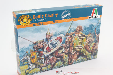Italeri 6029  - Celtic Cavalry 1st-2nd Century BC. 1/72 scale