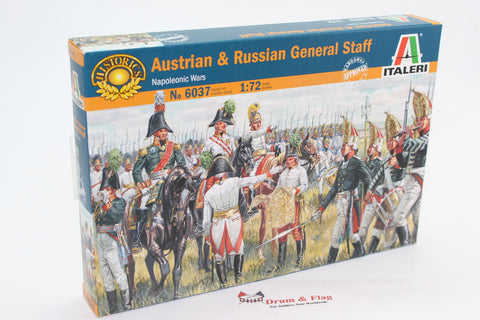 ITALERI 6037 - Austrian & Russian General Staff. 1/72 scale