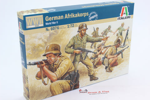 Italeri 6076  - German Afrika Korps. WW2. 1/72 scale