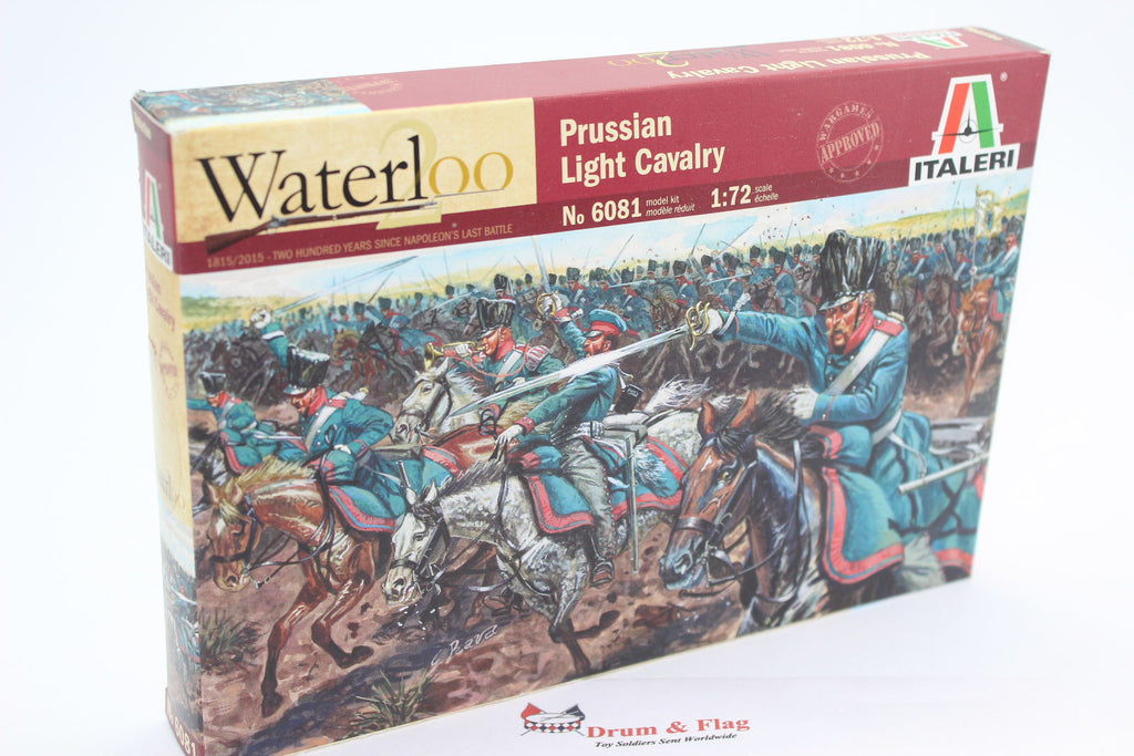 ITALERI 6081. Napoleonic Prussian Light Cavalry. 1/72 Scale