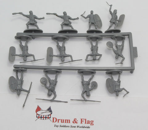 SINGLE SPRUE OF HAT 8019 HANNIBAL'S SPANISH INFANTRY. PUNIC WARS - CARTHAGINIANS. 1/72 SCALE.