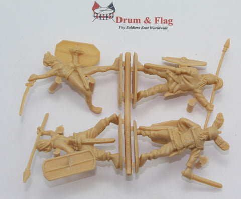 Single Sprue of HAT 9089. GALLIC WARBAND. 1/32 SCALE PLASTIC FIGURES. 54MM ANCIENT CELTS BRITONS