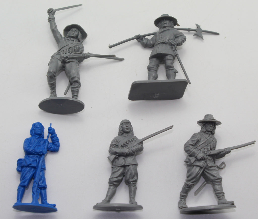 A Call to Arms - English Civil War Custom Musketeer Set (5 Figures) - 54mm - 1/32 Scale